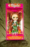 Red-haired Blythe in Flower Power dress by Ashton Drake from Hasbro designs, original box