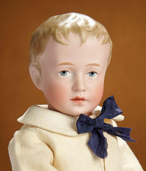 "German Bisque Art Character Known as ""Little Duke"", Model 153 by Simon and Halbig 6500/8500"