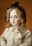 Rare Gentle-Faced Early German Closed Mouth Child Doll 1200/1500