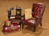 Collection of Antique Accessories for Gentleman Doll 800/1100