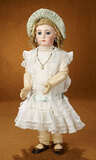 Very Beautiful French Bisque Bebe Triste by Emile Jumeau, Size 10 9500/12,000