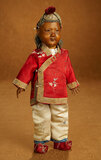 Rare Japanese All-Wooden Child Doll with Uniquely-Jointed Body 900/1200