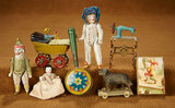 Collection of Miniature Antique Toys 400/600