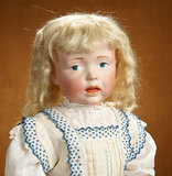Large German Bisque Art Character, Model 112, by Kammer and Reinhardt 7500/9500