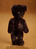 German Black Mohair Teddy Bear with Yes-No Mechanism 300/500