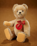 German Brown Mohair Tricky Teddy by Schuco with Original Label 300/400