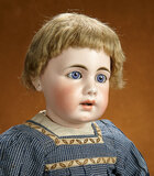 Large Early German Bisque Child Doll, 929, by Simon and Halbig with Superb Complexion 2200/2800