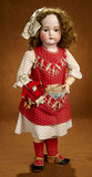 German Bisque Child Doll by Kammer and Reinhardt with Wonderful Costume and Toys 800/1000