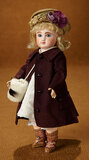 Petite French Bisque Bebe, Figure C, by Jules Steiner in Wonderful Costume 3200/4500