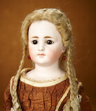 Early German Bisque Closed Mouth Doll by Simon and Halbig 1100/1300