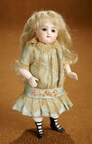 German All-Bisque Closed Mouth Doll with Muscular Modeling of Legs 1200/1500