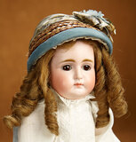 Rare German Bisque Closed Mouth Child, 989, by Simon and Halbig 1100/1500