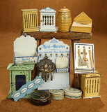 Collection of German Tin Accessories for Dollhouse Kitchen 1100/1400