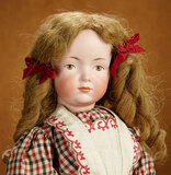 German Bisque Solemn Art Character, 526, by Kley and Hahn in Rare Size 8 1/2 2800/3500