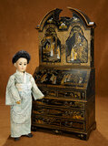 German Bisque Asian Lady, Model 1329, by Simon and Halbig  1100/1400