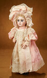 All-Original French Bisque Bebe Jumeau with Couturier Costume 2800/3200