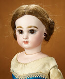 French Bisque Doll by Jumeau with Blue Corset Body 1800/2300