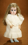 Petite German Bisque Child, 199, by Kestner with Rare Eight-Ball-Jointed Body 400/500