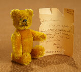 German Golden Mohair Compact Teddy by Schuco with Provenance 300/400