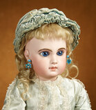 French Bisque Blue-Eyed Bebe EJ by Emile Jumeau 3200/3800