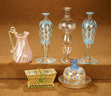 Collection of Miniature Antique Glassware 300/500