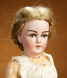 German Bisque Lady Doll, 1159, by Simon and Halbig, Rare Painted Eye Variation 1100/1300