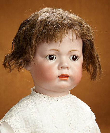 Rare German Bisque Character Baby, Model 119, by Kammer and Reinhardt 2200/2600