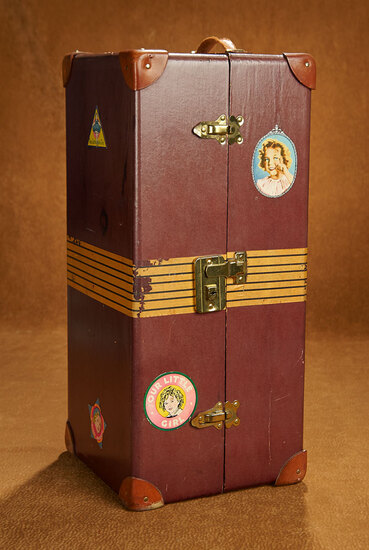 Trunk for Shirley Temple Doll with Movie Film Stickers 300/500