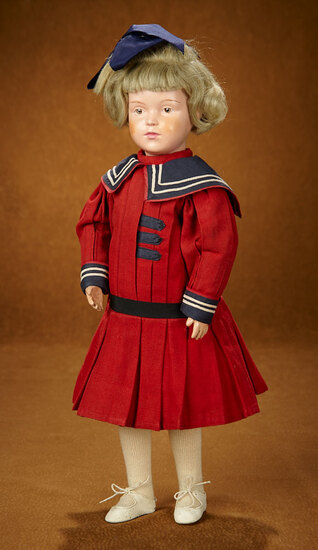 American Carved Wooden Character Doll by Schoenhut 600/800