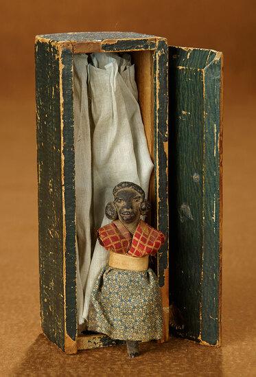Miniature American Folk Doll Relic in Wooden Box 200/300