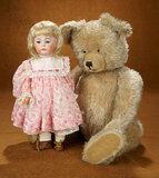 German Bisque Character, Model 115, with Toddler Body by Kammer and Reinhardt 1100/1500
