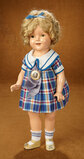 American Composition Shirley Temple by Ideal in Costume of