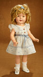 American Composition Shirley Temple Doll by Ideal in Rare