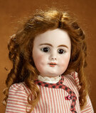German Bisque Child, 759, by Simon and Halbig with Deeply-Impressed Cheek Dimples 600/800