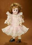 Petite German Bisque Closed Mouth Doll, Model 949, by Simon and Halbig 500/700