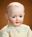 German Bisque Character, Model 568, by Kley and Hahn with Toddler Body 500/700