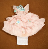 Pink Organdy Gown for Shirley Temple from