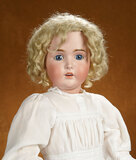 German Bisque Child, Model 171, by Kestner with Original Wig and Signed Body 500/700
