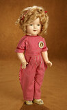 American Composition Shirley Temple in Aviator Costume from