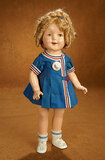 American Composition Shirley Temple by Ideal in