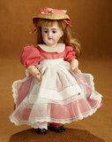 Petite German Bisque Closed Mouth Child, Model 89, by Simon and Halbig 300/400