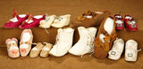 Lot of Pairs of Antique Doll Shoes 300/400