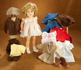 American Composition Shirley Temple by Ideal in Molly-ee Costume, Molly-ee Costumes 600/800
