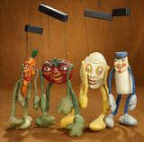 American Paper Mache Puppets from WPA Depression Era Projects 200/300