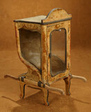 French Sedan Chair with Beveled Glass Windows 300/500