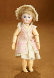 Tiny German Bisque Closed Mouth Doll by Kestner 300/400