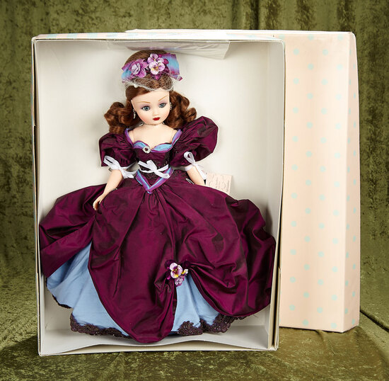 "21"" Limited Edition Alluring Amethyst Cissy in all original condition by Alexander #132 of 350."