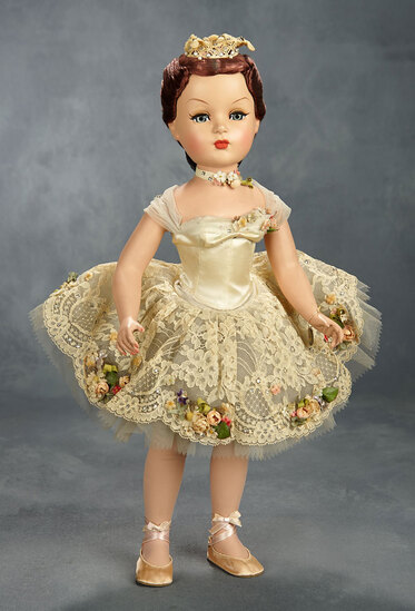 "Rare ""Ballet des Fleurs"" Portrait Doll from the Mystery Series of 1951 5000/7000"