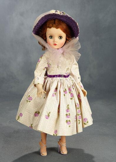 Elise in Purple Roses Shirtwaist, 1958 400/500