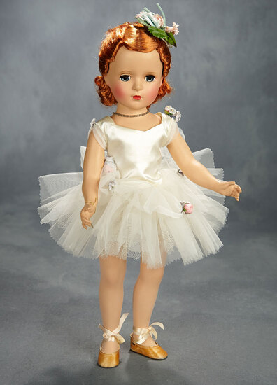 Margaret Ballerina with Rare Red Hair, 1951 400/500